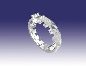 单反相机零件:聚焦齿轮